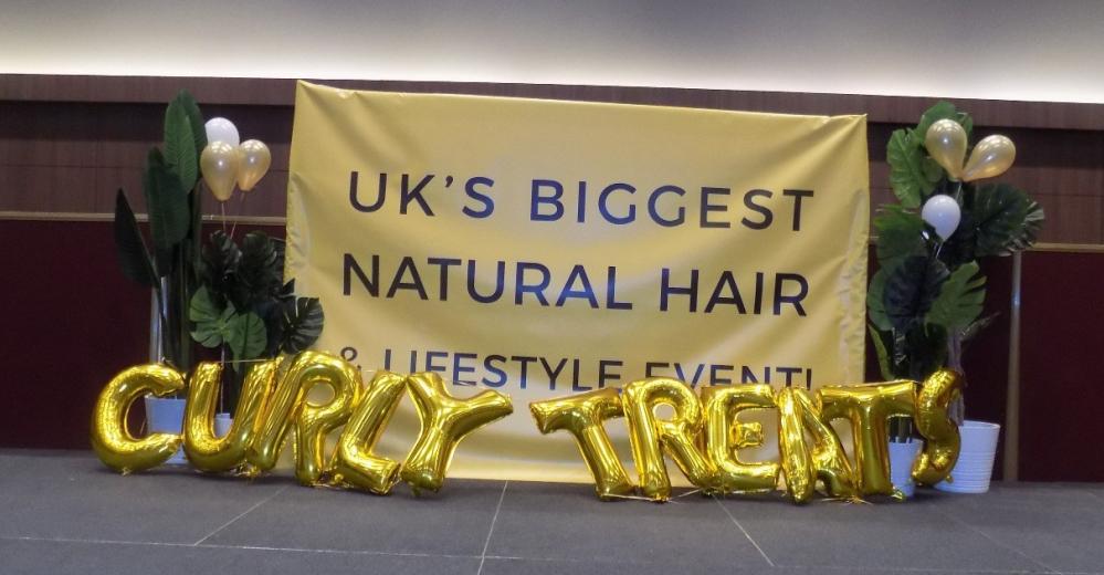 Curly Treats Festival Ballons Banner