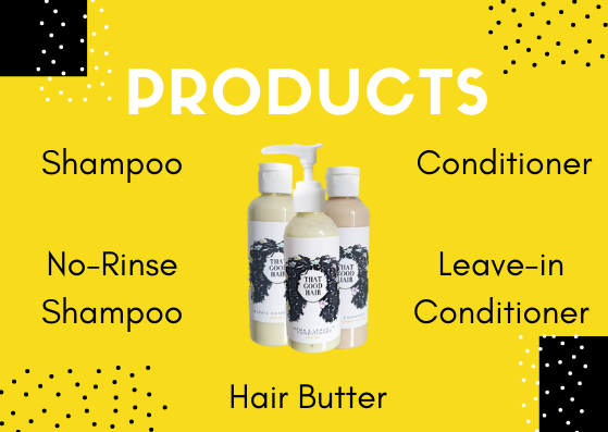 Customisable hair products