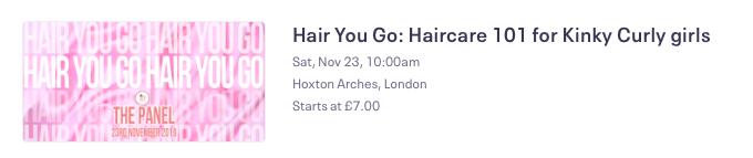 HAIR YOU GO